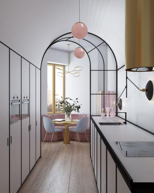 épinglé par elmo yang sur interiors kitchensdining pinterest métallerie cuisines et idee deco