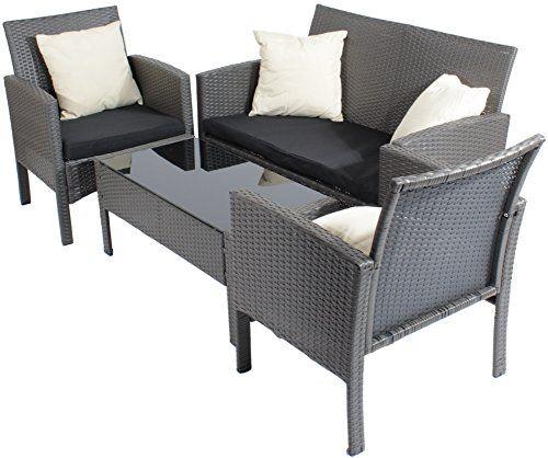 Charles Jacobs Rattan Glass Table Sofa 2 Chair Garden Https Www Amazon Co Uk Dp B00yym6r9s Ref Cm Sw R Pi Dp Jmxb55nc924