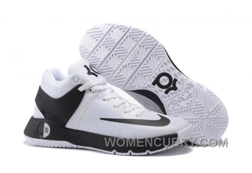 "d797b58573e Nike KD Trey 5 IV ""Team"" White Black Mens Basketball Shoes Top Deals ..."