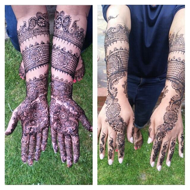 Incredible detailed henna