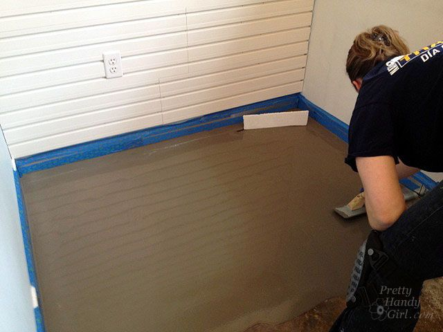 How To Patch And Level A Concrete Subfloor More Moxiful