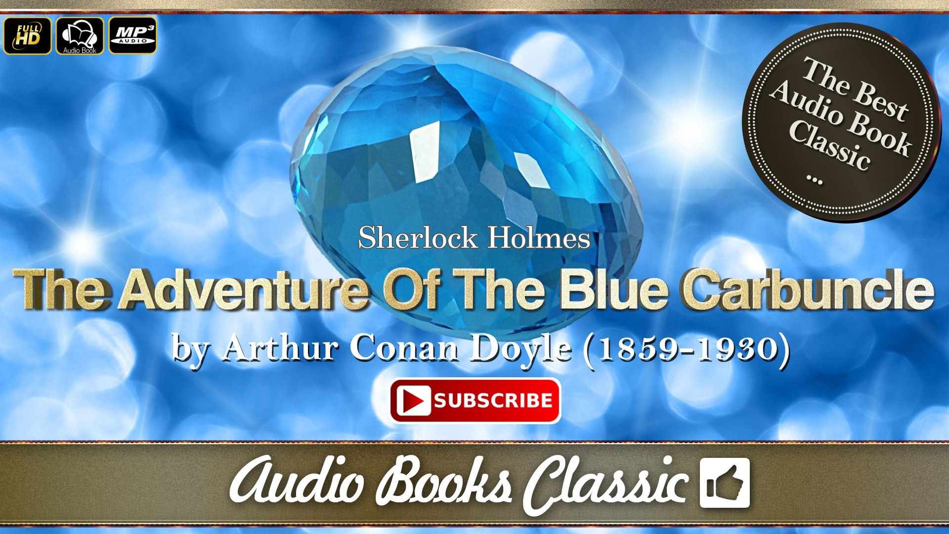 Audiobook The Adventure Of The Blue Carbuncle by Arthur