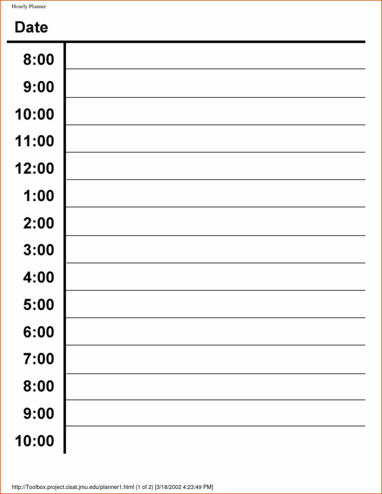 Jmu Calendar 2022 2023.Weekly Hourly Planner Template Elegant 6 Hourly Planner Bookletemplate Daily Schedule Template Daily Calendar Template Hourly Planner