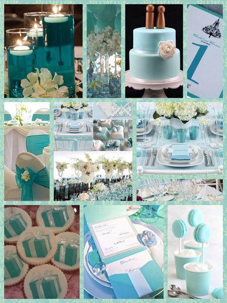 Collage color Tiffany