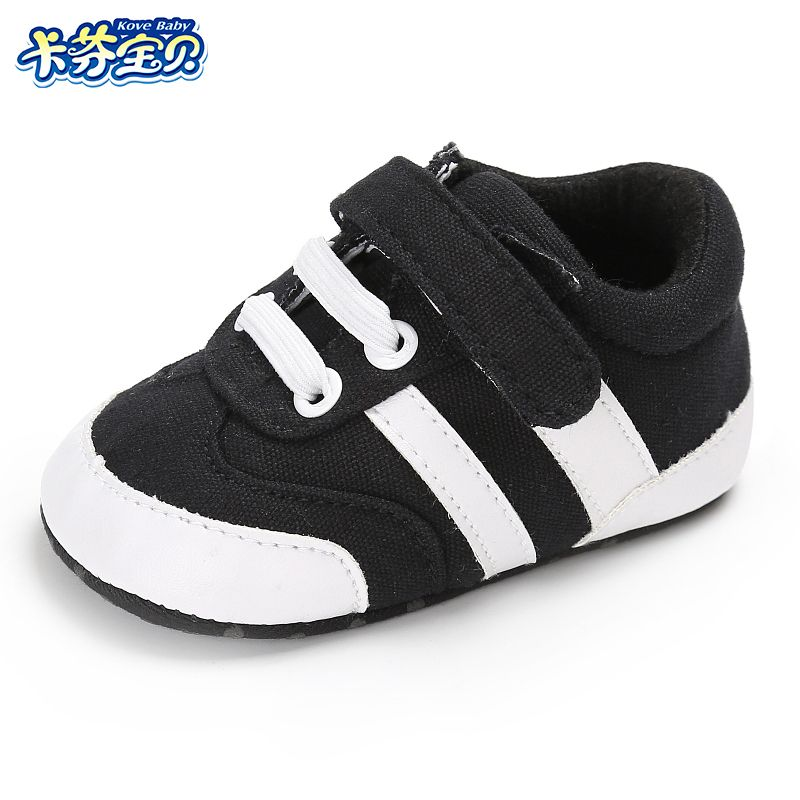 e8be02b3baeaf Canvas Baby Shoes Infant Girls Soft Sole Shoes 0-18 months Newborns toddler  first walkers