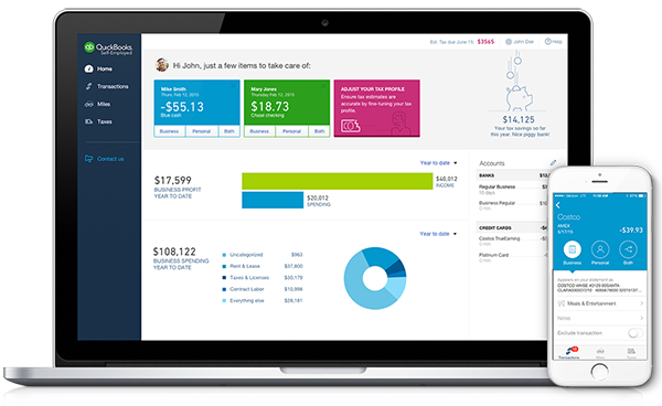Quickbooks Self Employed Simplifies Self Employment Taxes With Year Round Expense Tracking Quickbooks Quickbooks Online Quickbooks Payroll