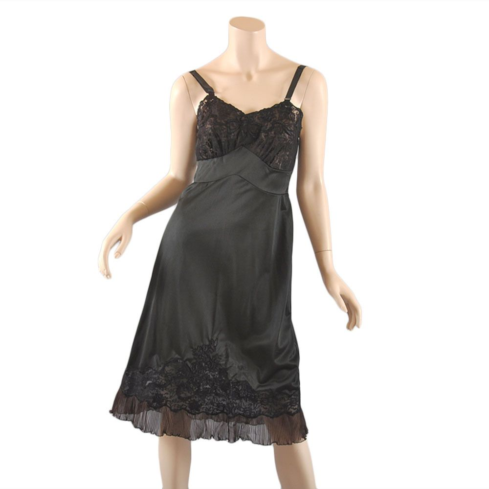 Black Aristocraft Early 1950s Slip NOS w/ tags from mairemcleod on Ruby Lane