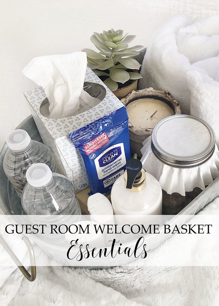 Guest Room Welcome Basket Essentials images