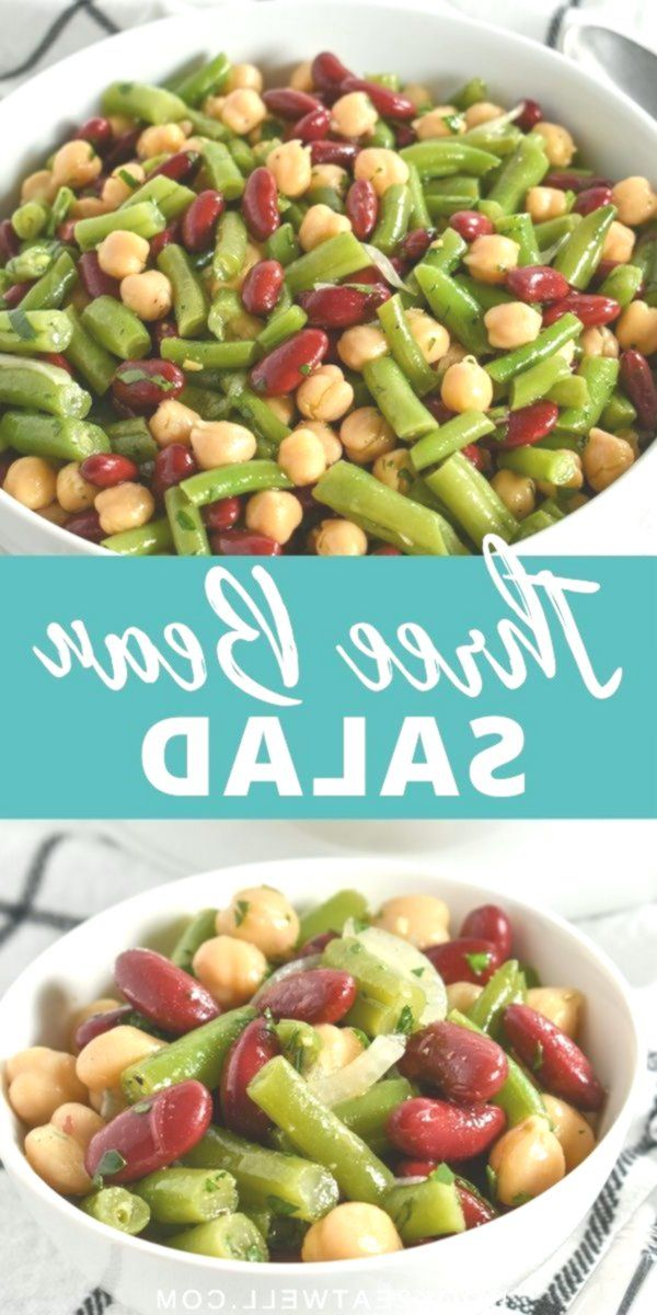 Three Bean Salad Recipe In 2020 Bean Salad Recipes Bean Salad Recipes Healthy Green Bean Salad Recipes