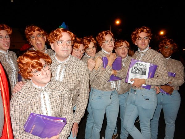 West Hollywood Halloween Stranger Things Barb group costumes ...