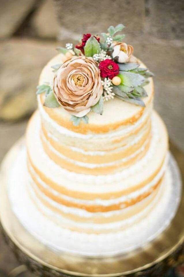 No icing cake | W e d d i n g | Pinterest