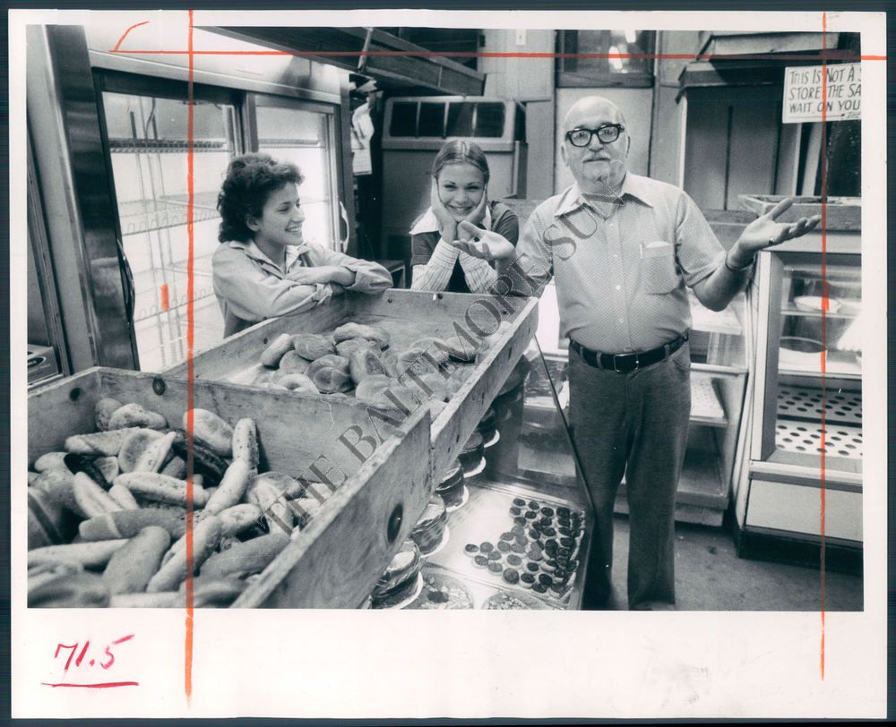Hard To Find Photo Of Stone's Bakery On Lombard Street, Baltimore  Marty  Stone,