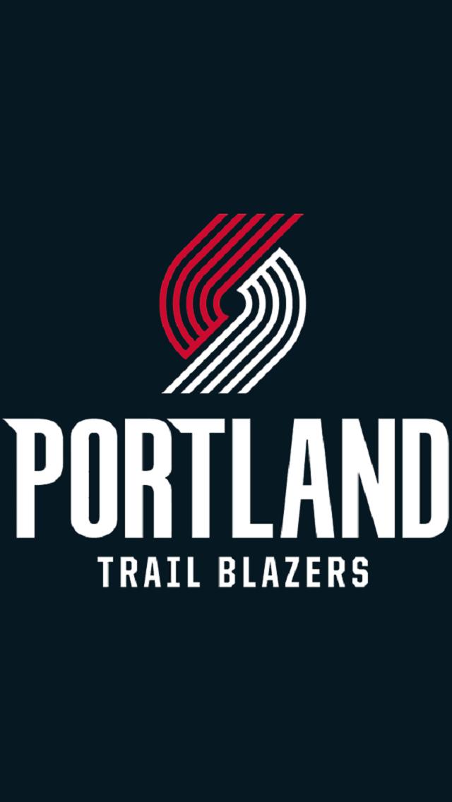 e2cb1b95c374 Portland Trail Blazers new logo   script font (2017-