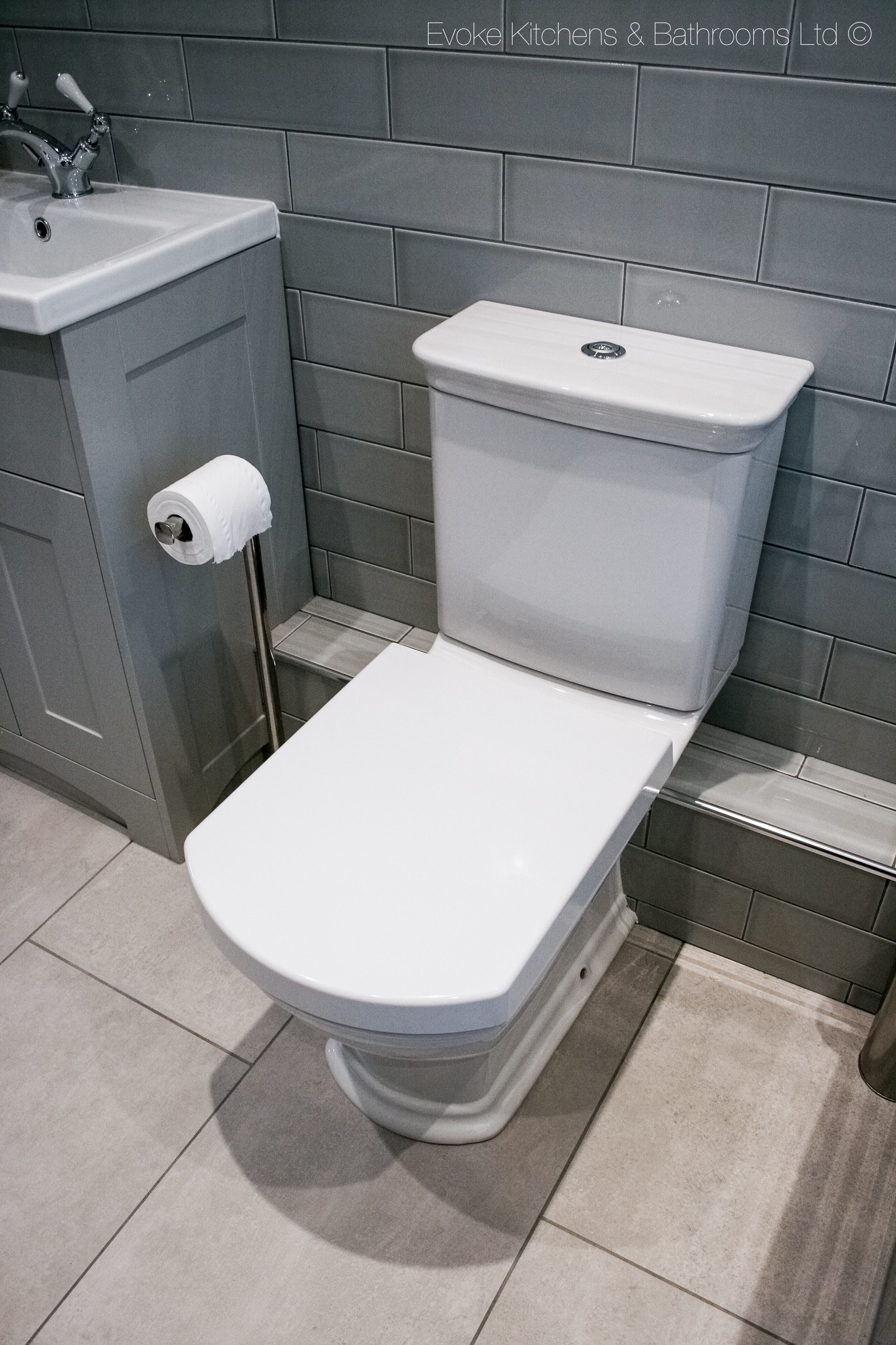 Home Basement toilet pump, Bathroom style, Traditional