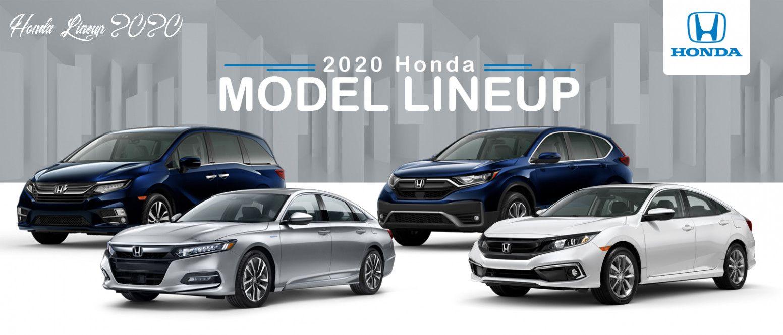 Honda Lineup 2020 Performance In 2020 Honda Models Honda New Honda