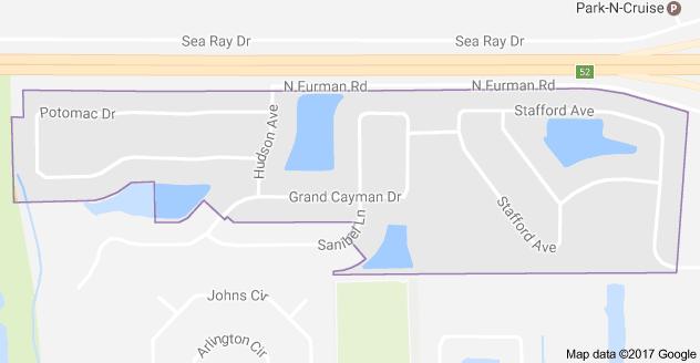 Map Of Merritt Island Florida.Map Of Island Crossings Merritt Island Fl 32952 Selling Or Buying
