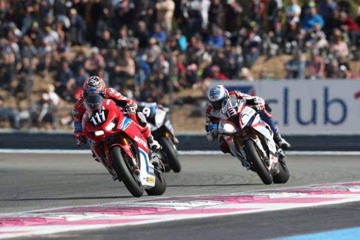 Honda Endurance Racing Clinches Podium At Season Opener F C C Tsr Honda France 6th The 2017 2018 Fim Endurance World Championsh Racing Motorcycle News Honda