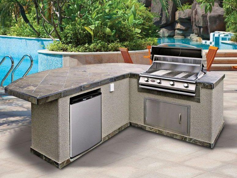 Outdoor Küchenschrank : Beautiful stainless steal outdoor bbq design. outdoor bbqs pinterest