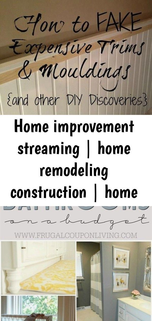Construction Home Improvement Remodeling Shows Streaming Home