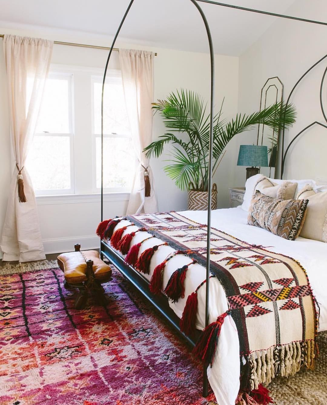 Bohemian Bedroom Decoration Meuble Bambou Deco Chambre