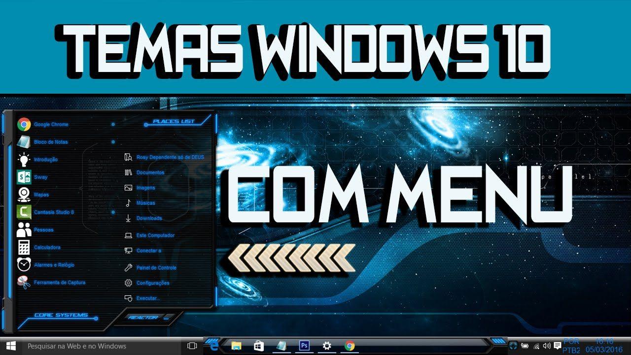 Update 10586 Como Instalar Temas Personalizados no Windows