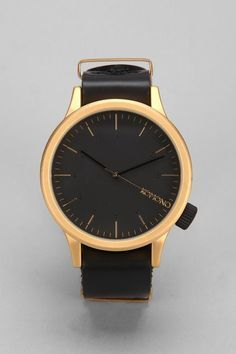 Komono Magnus Watch Gold Black Amazing Jewelry Accessories Gold Watch