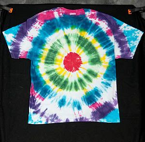 tie dye instructions for kids