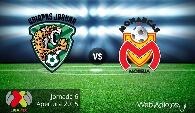 Jaguares vs Morelia, Jornada 6 del Apertura 2015