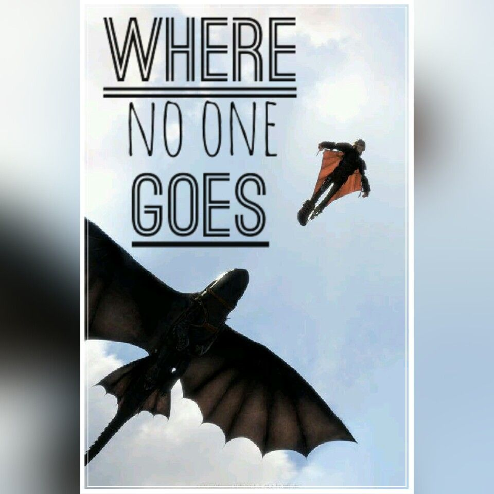 We go where no one goes wherenoonegoes httyd2 toothless we go where no one goes wherenoonegoes httyd2 toothless hiccup fly ccuart Images
