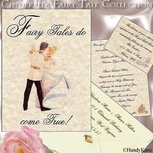 cinderella wedding invitations the wedding specialists - Cinderella Wedding Invitations