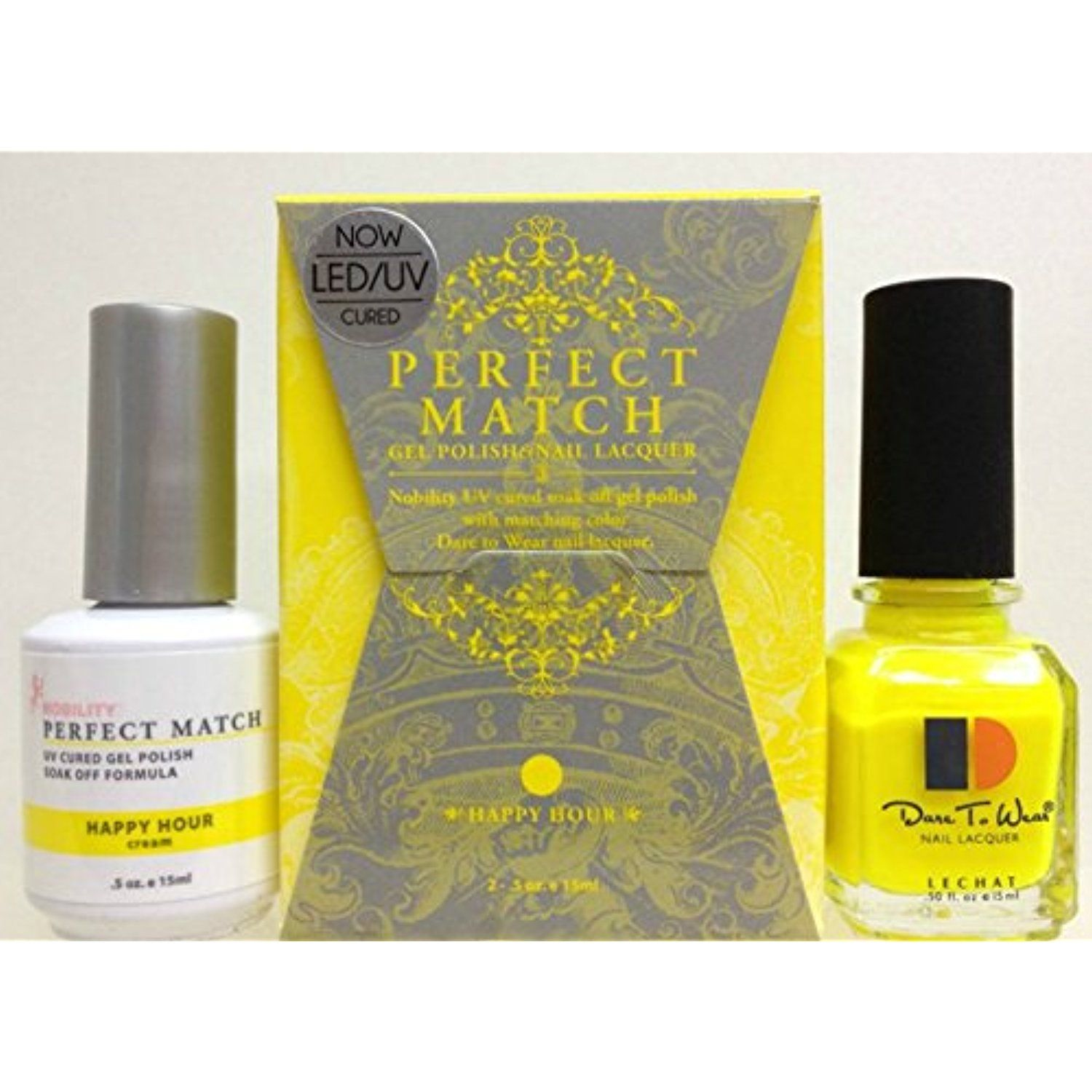 LeChat Perfect Match DUAL SET Soak Off Gel Polish and Dare to Wear ...