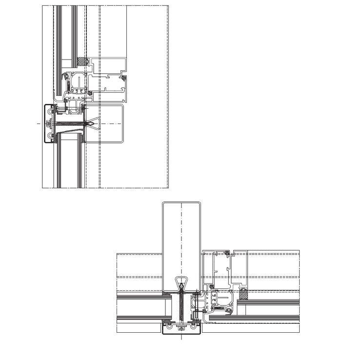 Top-hung window HUECK Serie Lambda 110 (outwards) Stabalux