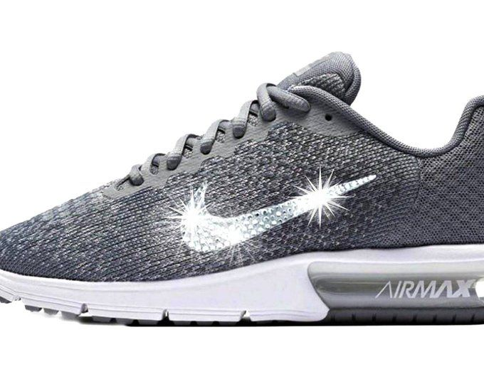 Last pair sz 10 Women s Bling Nike Air Max Sequent - Perfect Gift - Nike  Shoes bfe969a6dc
