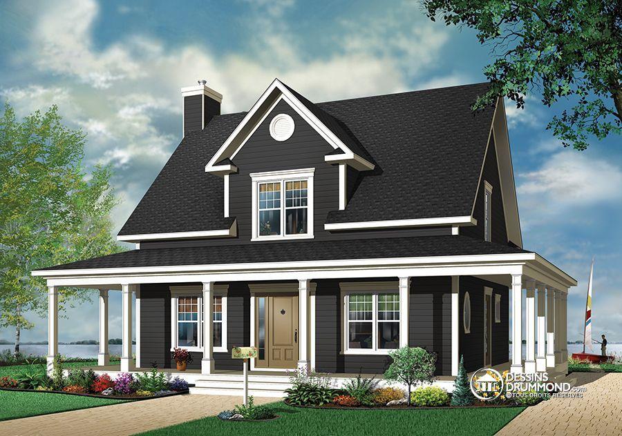 Détail du plan de Maison unifamiliale W3504