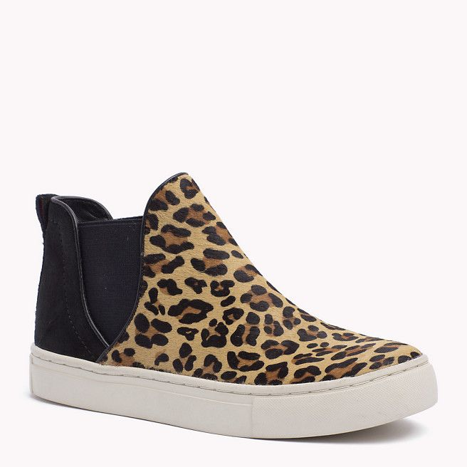 Tommy Hilfiger Suede Sneaker - cheetah/black (Black) - Tommy Hilfiger Sneakers - main image