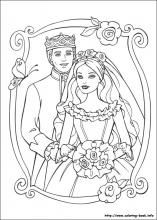 Barbie As The Princess And The Pauper Coloring Pages On Coloring Book Info Wedding Coloring Pages Barbie Coloring Pages Barbie Coloring