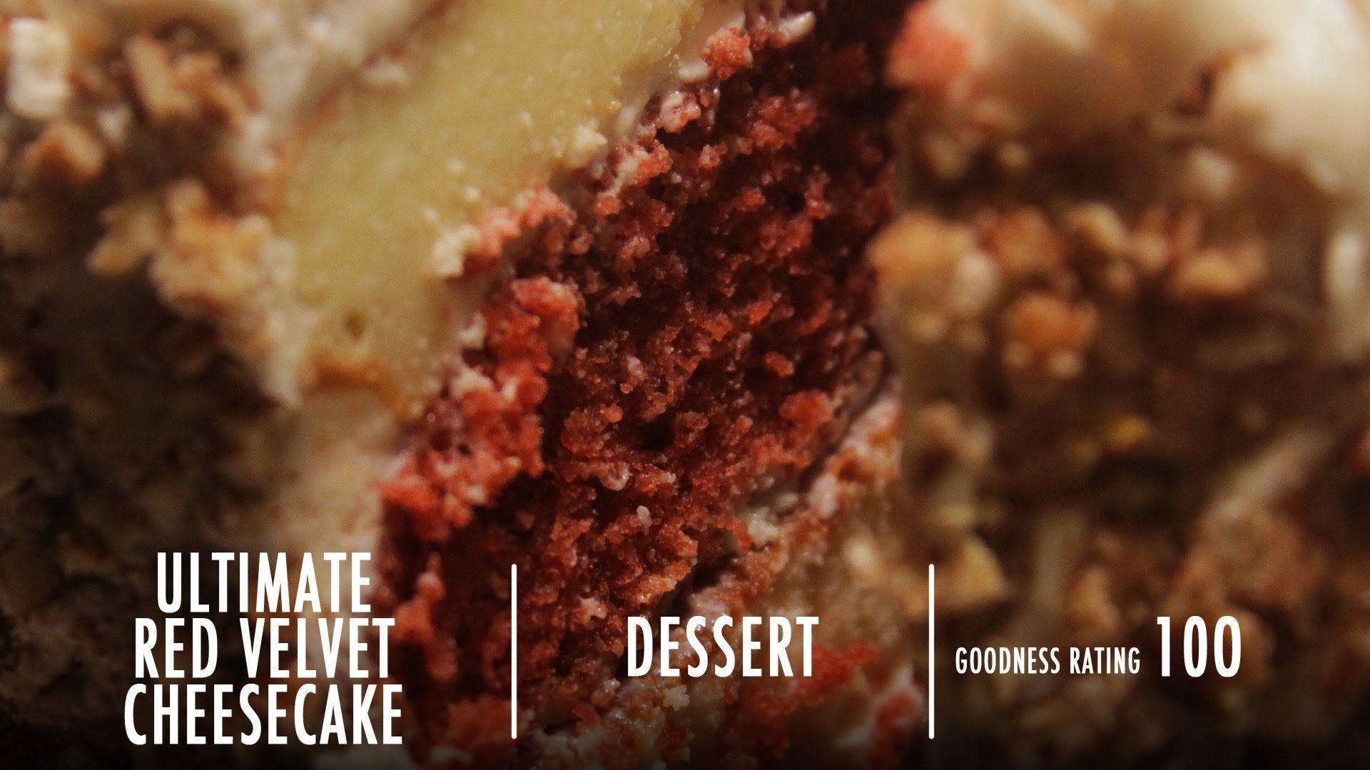 Ultimate RED VELVET Cheesecake