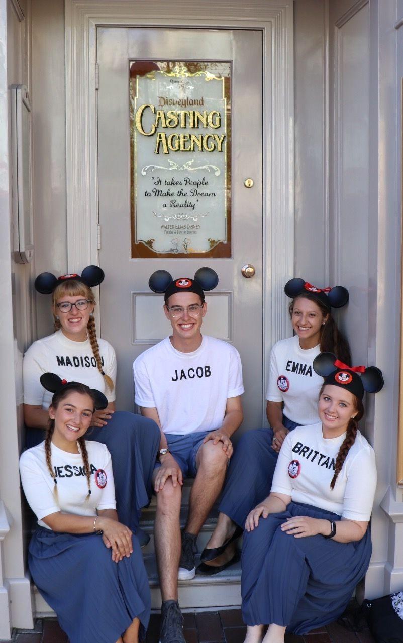 Classic original walt disney Mouseketeer costumes  Disneyland