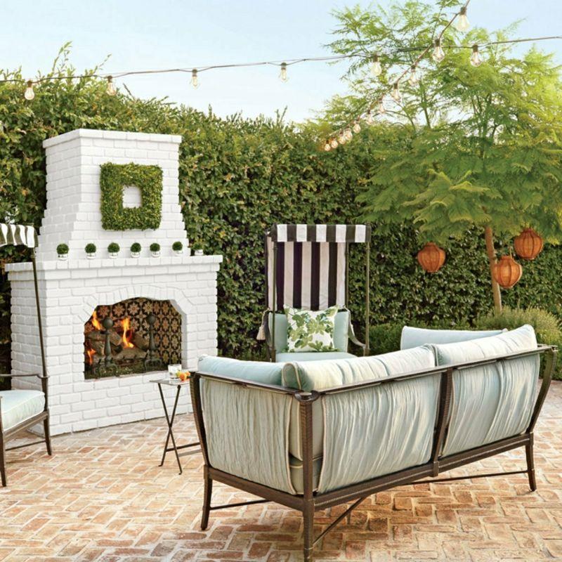 Gartenkamin selber bauen: notwendige Materialien, Anleitung und ...