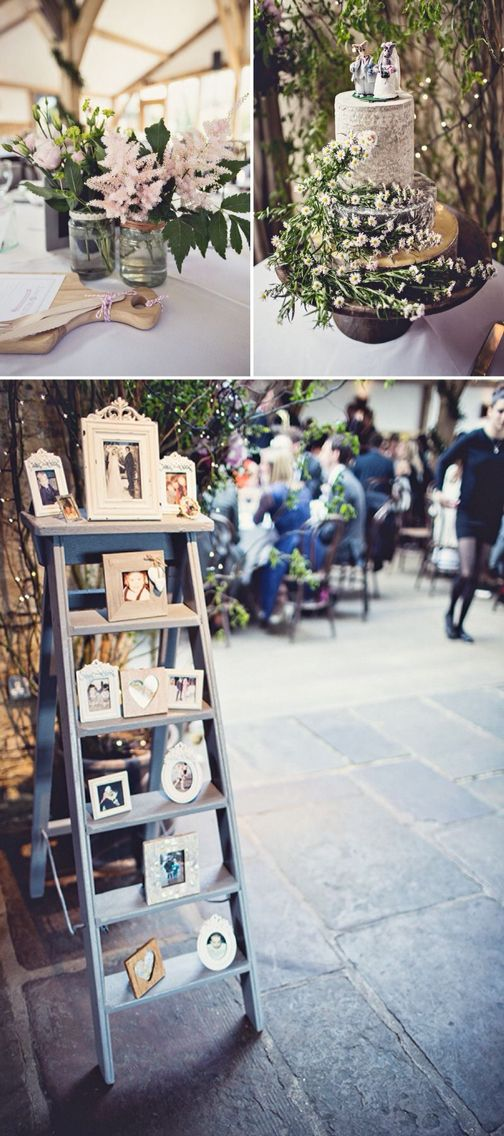 Love The Photo Ladder Love The Idea Of Having It As A Memory Ladder