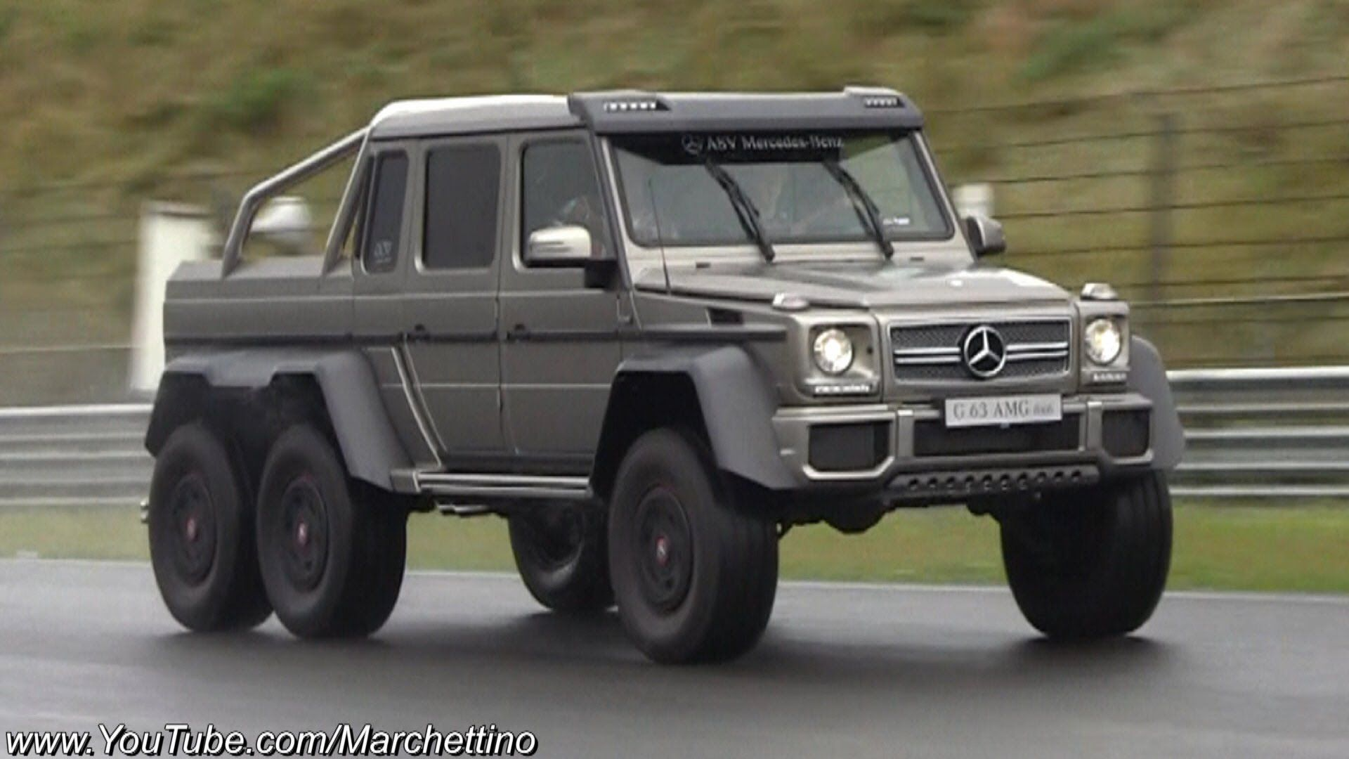 Mercedes g63 amg 6x6 races supercars on track anything for Mercedes benz g63 amg 6x6 price