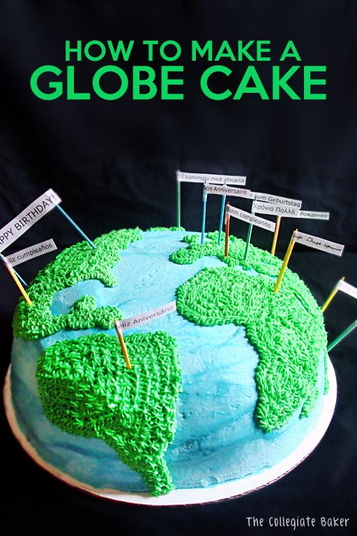 Globe Cake On Pinterest