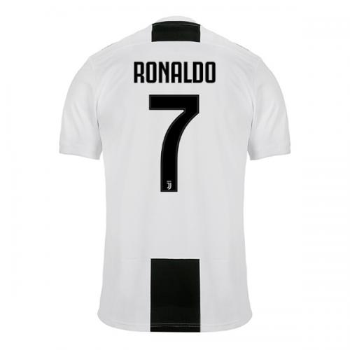 b5f04315a8c 18-19  juventus Home  ronaldo  7 Soccer Jersey Shirt