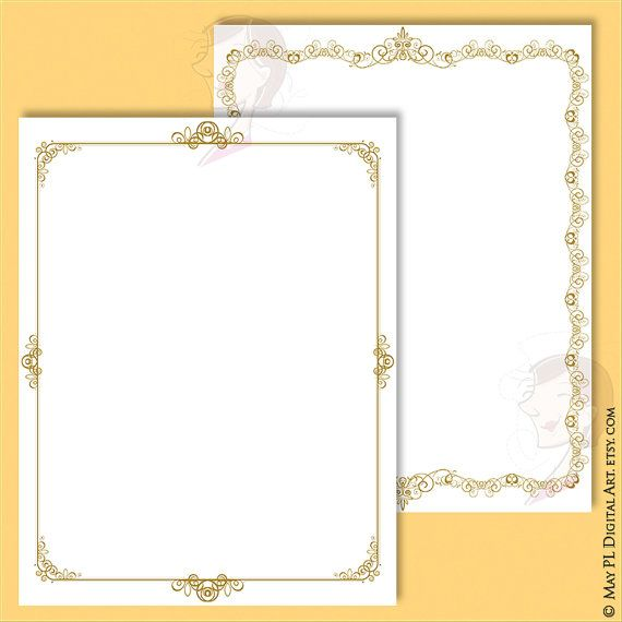 7 French design frames, 8x11 size. Perfect for wedding purposes or ...
