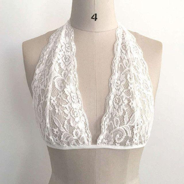 New arrival cropped feminino Women tops Hollow Translucent Underwear