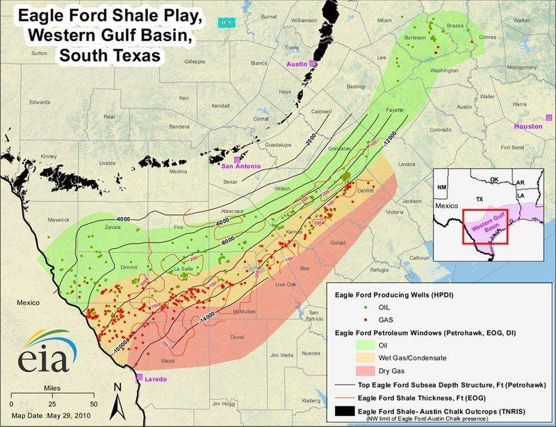 Eagle Ford Shale Map Httpcarenaracomeagle Ford Shale Map 6605