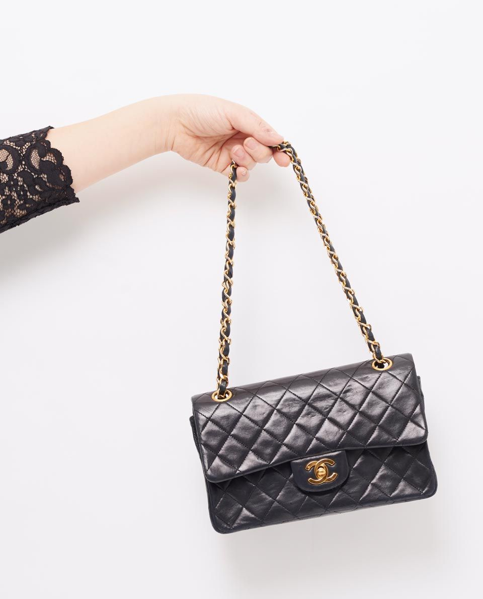 vintage chanel 9 classic flap bag gallery