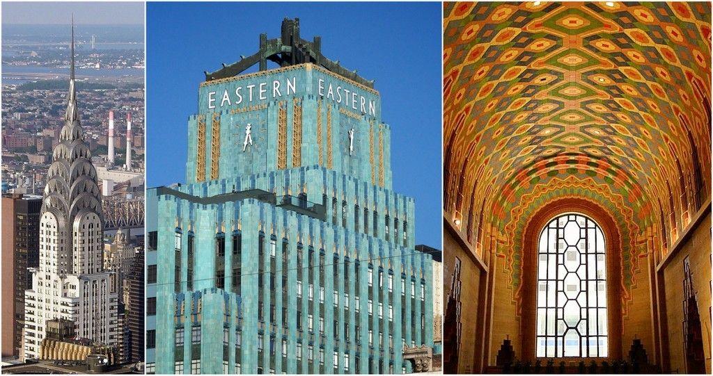 Art deco architecture chrysler building public domain eastern columbia building via bighugelabs