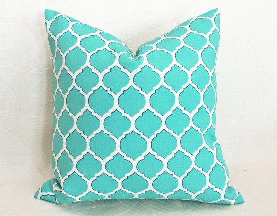Cuscini Color Tiffany.Tiffany Color Pillow Turchese