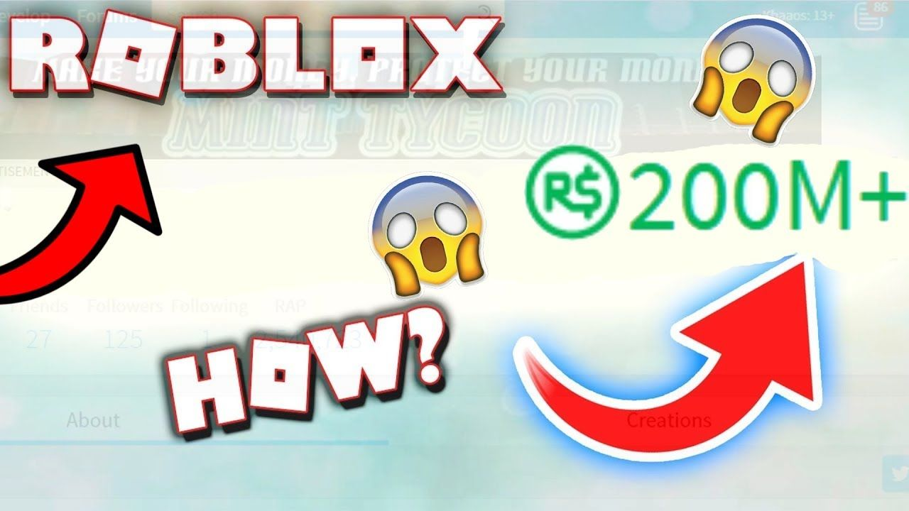 ROBLOX SECRET BUTTON GIVES 500M FREE ROBUX!   I FOUND IT